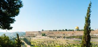 Tempelmonteringen Arkivfoto