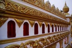 Tempelmuur Stock Afbeelding