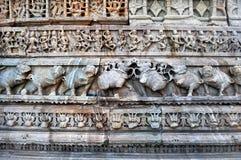 Tempelmuur Stock Foto