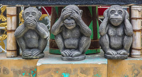 Tempelmuur Royalty-vrije Stock Fotografie