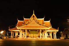 Tempelnatt Royaltyfri Bild