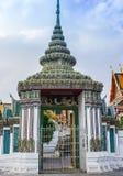 Tempelport Royaltyfri Bild