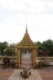 Tempelport Arkivfoton