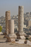 Tempelruïnes, Amman Royalty-vrije Stock Foto's