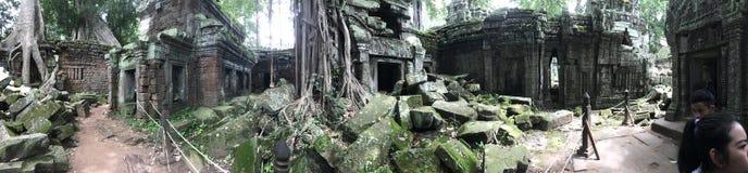 Tempelruïnes in Kambodja Stock Fotografie