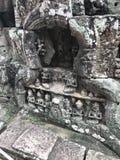 Tempelruïnes in Kambodja Royalty-vrije Stock Afbeelding