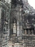 Tempelruïnes in Kambodja Stock Afbeeldingen