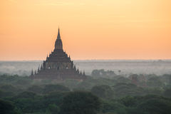 Tempels in Bagan Royalty-vrije Stock Fotografie