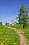 Tempels in Suzdal Rusland Stock Foto's