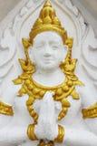 Tempels vägg Arkivfoto