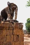 Tempels van Angkor Wat, Kambodja Royalty-vrije Stock Afbeelding