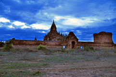 Tempels van Bagan Myanmar Stock Afbeelding