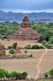Tempels van Bagan Myanmar Stock Foto