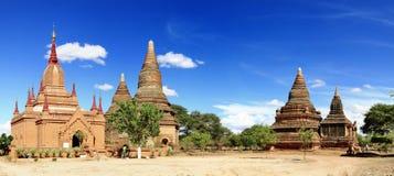 Tempels van Bagan Myanmar Royalty-vrije Stock Afbeeldingen