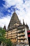Tempels van Bagan Myanmar Royalty-vrije Stock Foto's