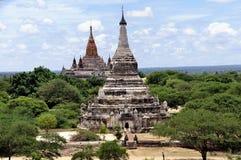 Tempels van Bagan Myanmar Royalty-vrije Stock Foto