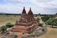 Tempels van Bagan Myanmar Stock Afbeeldingen
