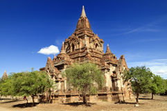 Tempels van Bagan Myanmar Royalty-vrije Stock Afbeelding