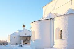 Tempels van het kloosterst Basilicum Stock Foto's