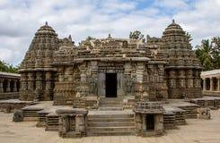 Tempelsikt av Somnathpur Arkivbild