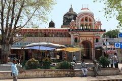 Tempelstad av Khajuraho i Indien Royaltyfria Foton