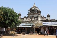 Tempelstad van Khajuraho in India Stock Fotografie
