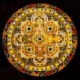 Tempelstadtmuster des tibetanischen Buddhismus Stockfotos