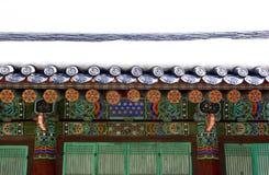 Tempeltak Arkivfoto