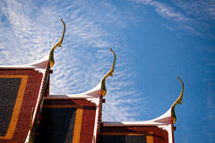 Tempeltak Royaltyfri Bild