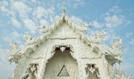 tempelthailand white Arkivbilder