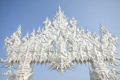 tempelthailand white Arkivfoton