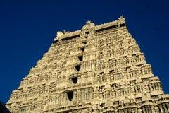 Tempeltoren, Tiruvannamalai Stock Afbeelding
