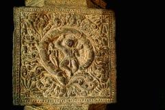Tempelunderhållarna på tempelpelare Arkivbilder