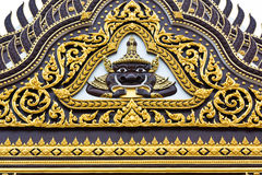 tempelvägg Arkivbilder
