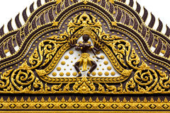tempelvägg Fotografering för Bildbyråer