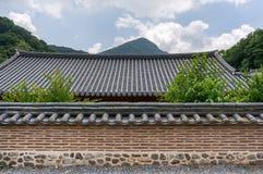 Tempelvägg royaltyfri foto