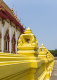 Tempelvägg Arkivfoto