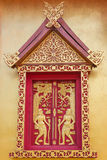 Tempelvenster Stock Foto