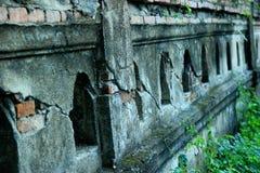 Tempelwände Stockbild