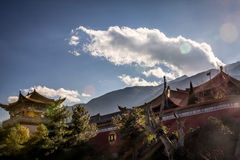 Tempelwand Stockfotografie