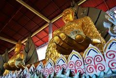 TempelWat Somdej Buddhist religion Thailand Arkivbild