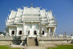 tempelwhite Royaltyfri Bild