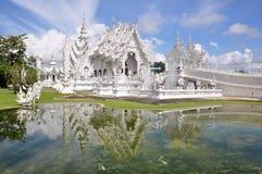 tempelwhite Royaltyfri Foto