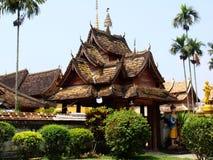tempelxishuangbanna arkivbild