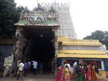Tempelzeit Stockbild