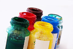Tempera Royalty Free Stock Images