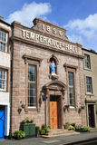 Temperance Hall, Kirkby Stephen, Cumbria. Royalty Free Stock Photos