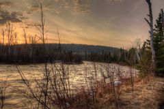 Free Temperance River Is A State Park On The North Shore Of Lake Supe Royalty Free Stock Photography - 116014687