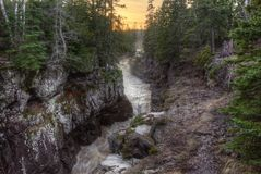 Free Temperance River Is A State Park On The North Shore Of Lake Supe Stock Images - 116014704
