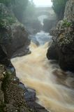 Temperance River in Minnesota Stock Photo